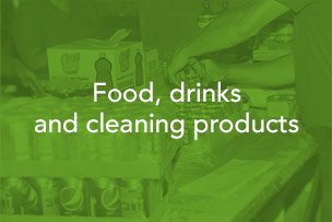 Kerosur Food, drinks and cleaning products